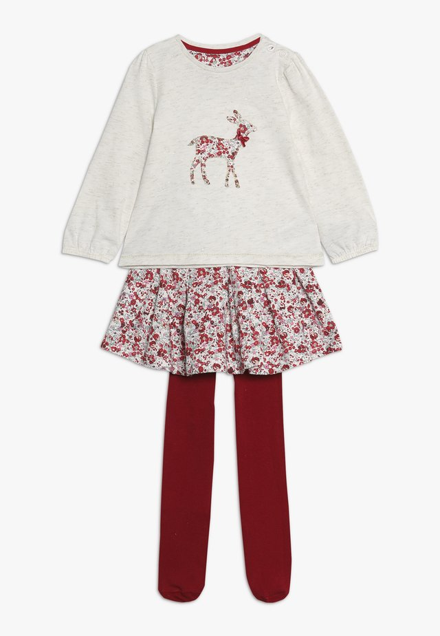 BABY DEER AND FLORAL SKIRT SET - Áčková sukně - multi