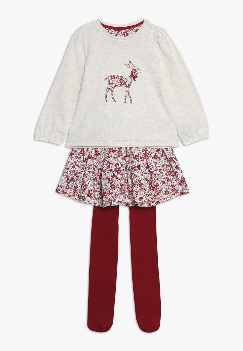 mothercare - BABY DEER AND FLORAL SKIRT SET - A-linjekjol - multi