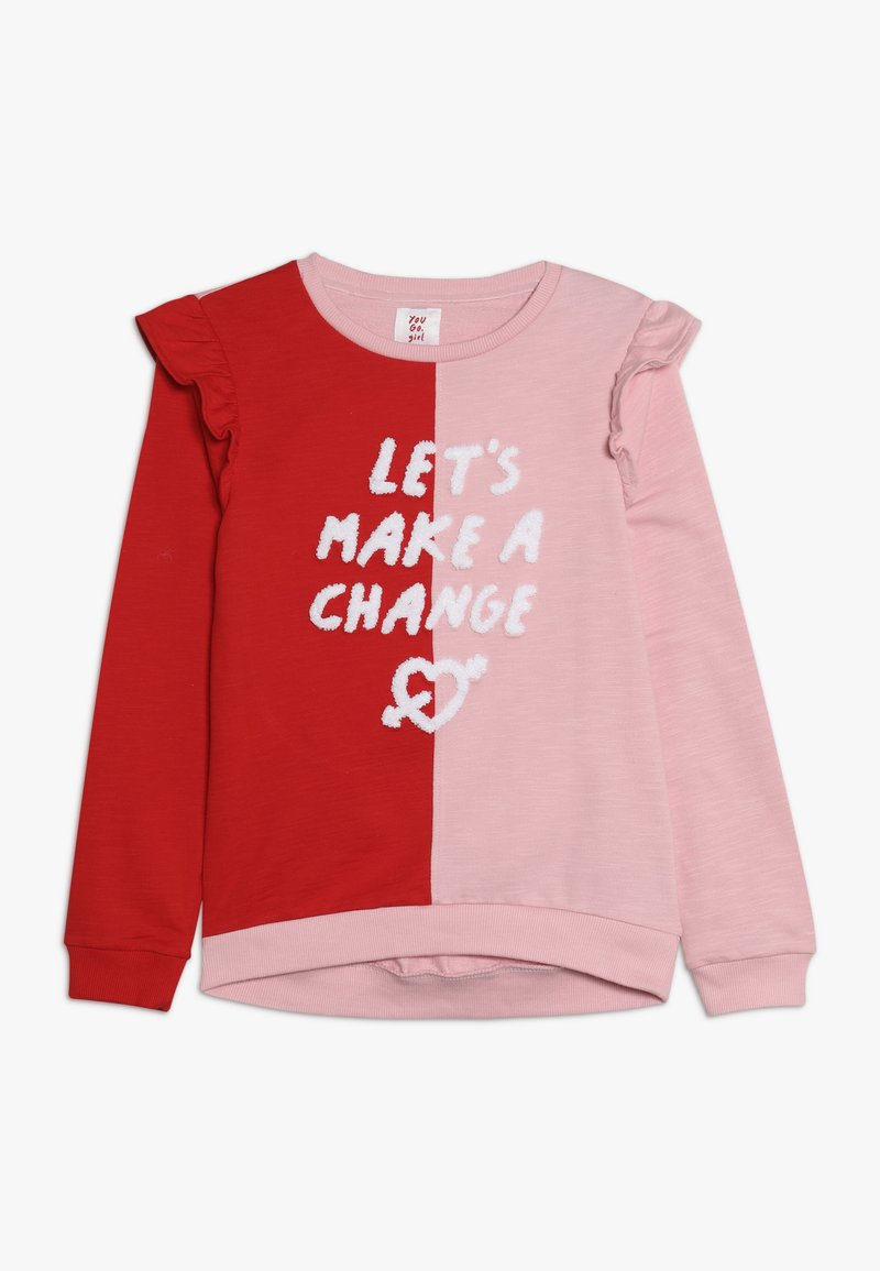 mothercare - FRILL - Sweatshirt - multicolor