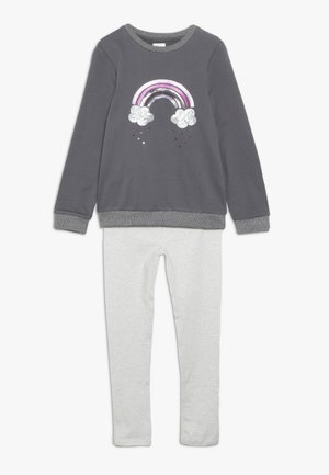 SEQUIN RAINBOW SET - Sweatshirt - grey