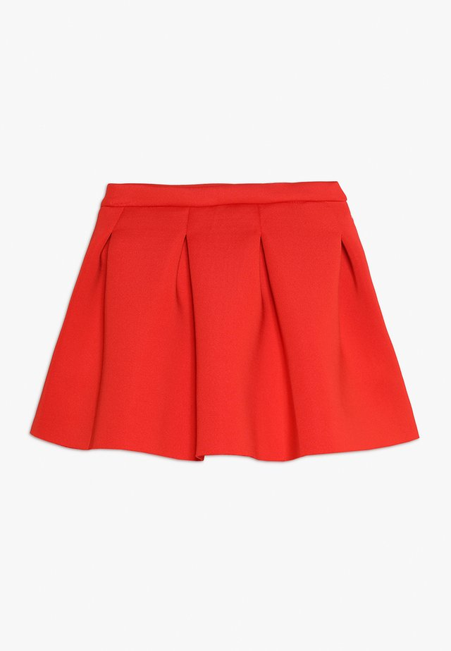 SKIRT - Minisukně - red