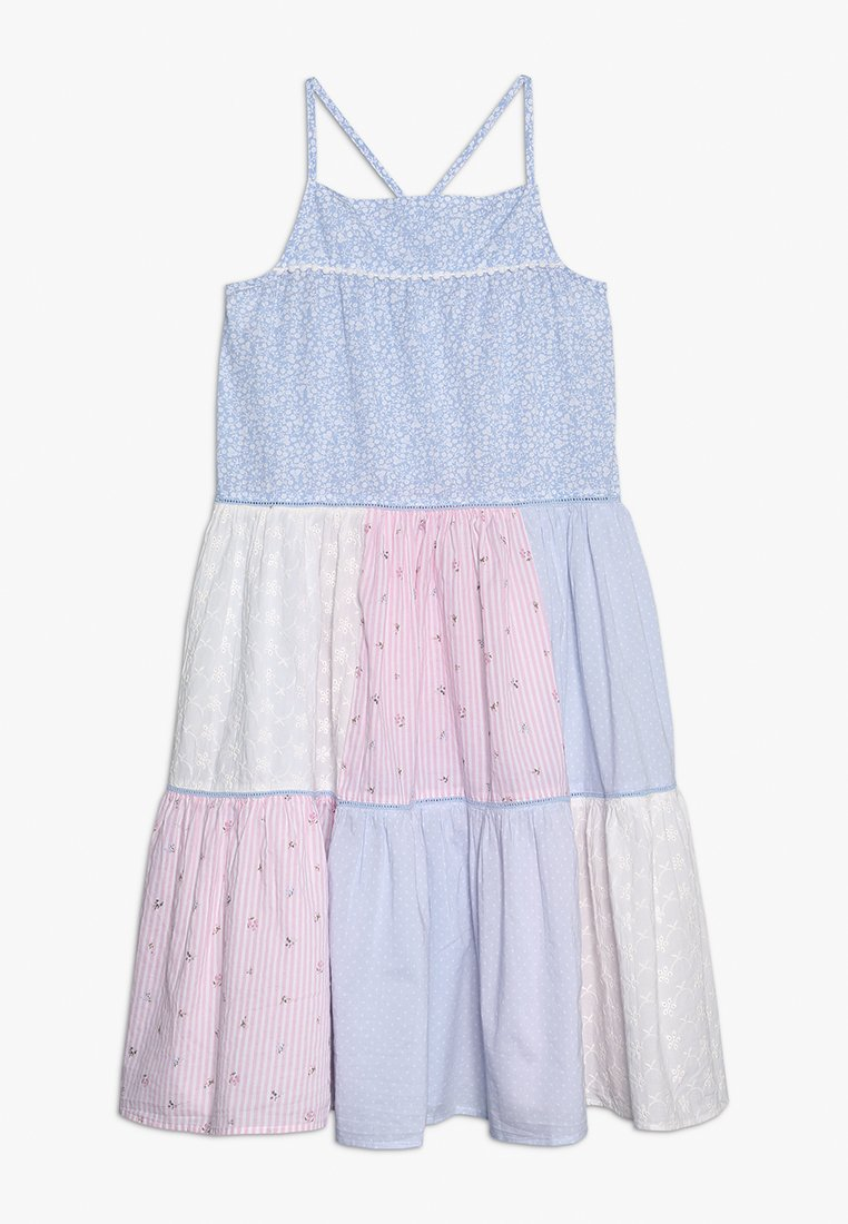 mothercare - TIERED PATCHWORK MAXI DRESS - Day dress - pastels multicolor