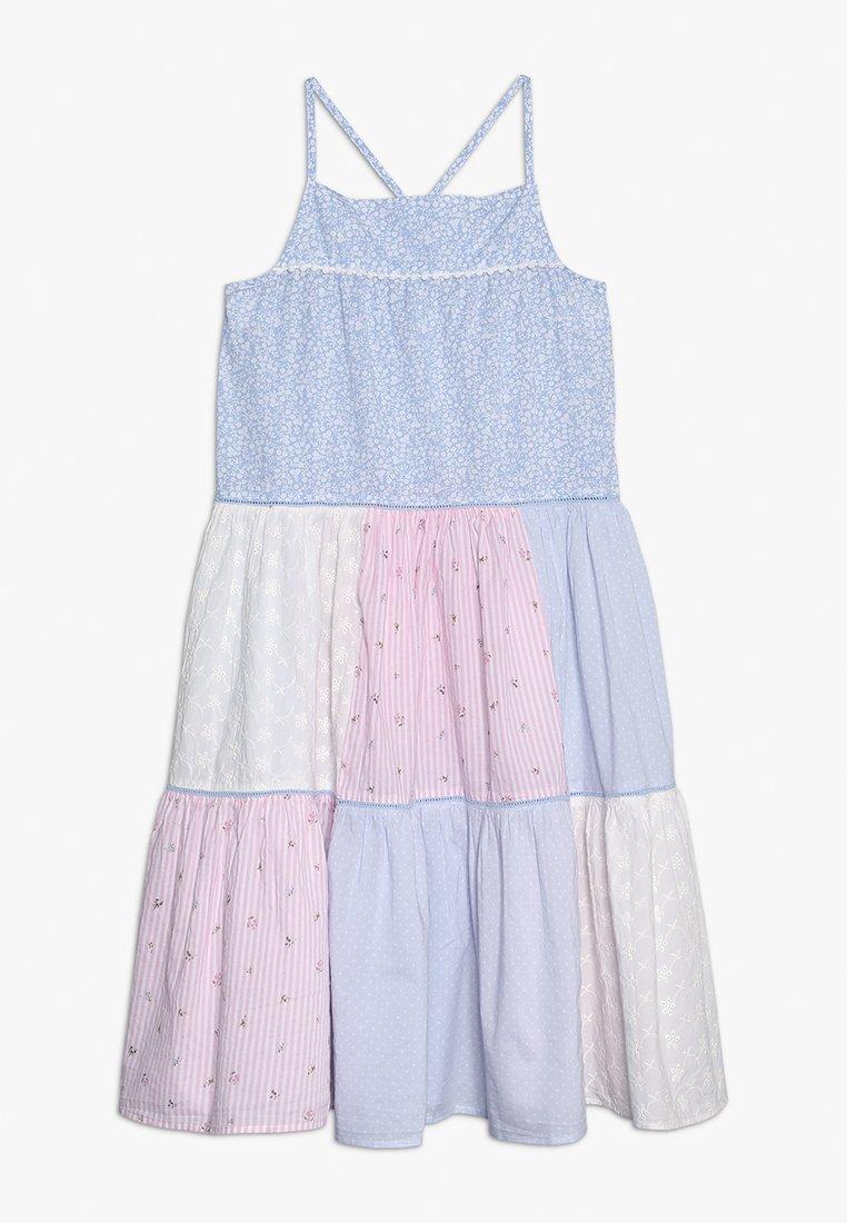 mothercare - TIERED PATCHWORK MAXI DRESS - Vapaa-ajan mekko - pastels multicolor