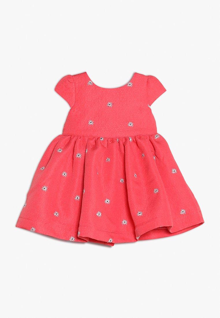 mothercare - FLOWER DRESS MINI GIRLS - Cocktailkjoler / festkjoler - coral