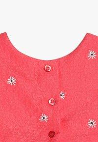 mothercare - FLOWER DRESS MINI GIRLS - Cocktailkjoler / festkjoler - coral - 4