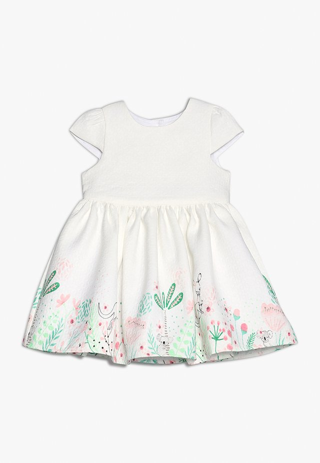 FLORAL BORDER DRESS MINI GIRLS - Cocktailkleid/festliches Kleid - white