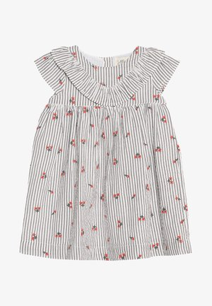 SEERSUK FRILL DRESS MINI GIRLS - Sukienka letnia - white