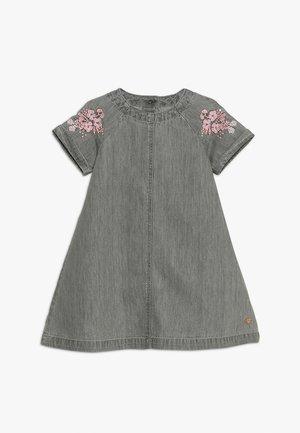 EMBROIDERY DRESS MINI GIRLS - Spijkerjurk - denim