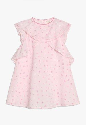 FLORAL RUFFLE DRESS MINI GIRLS - Denní šaty - pink