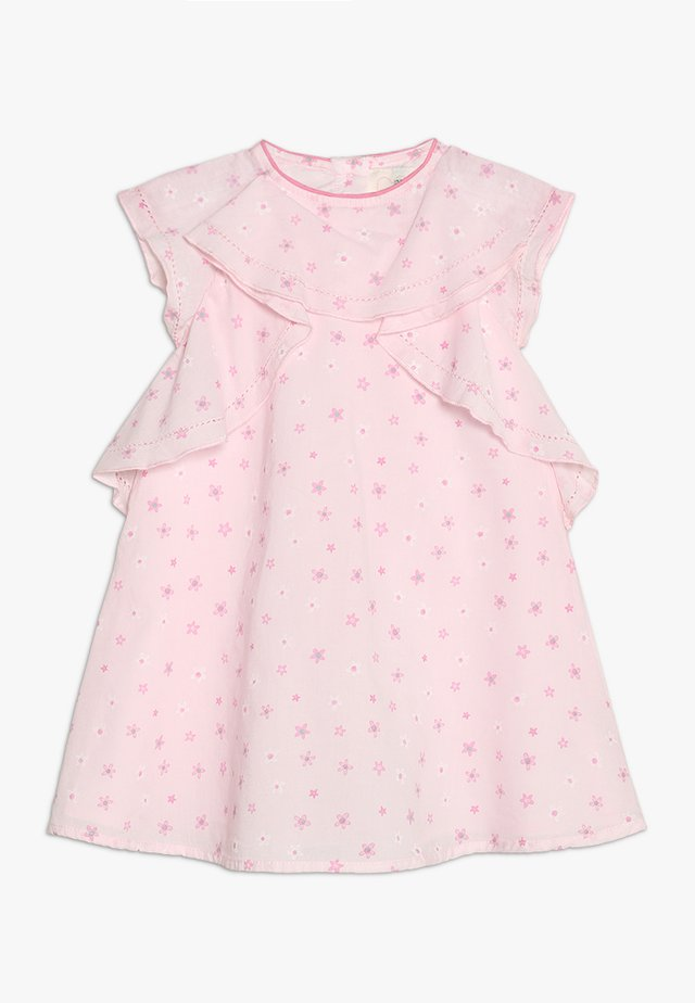 FLORAL RUFFLE DRESS MINI GIRLS - Freizeitkleid - pink