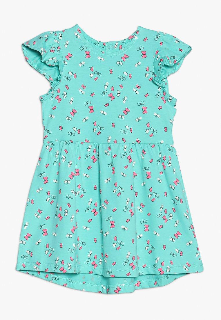 mothercare - BUTTERFLY DRESS MINI GIRLS - Trikoomekko - turquoise