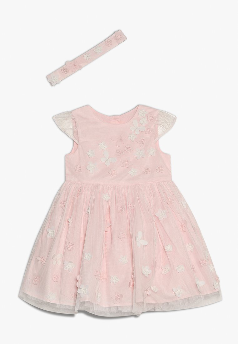 mothercare - FLOWER DRESS BABY SET - Robe de soirée - pink