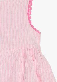 mothercare - STRIPE TRIM DRESS BABY - Korte jurk - pink - 4