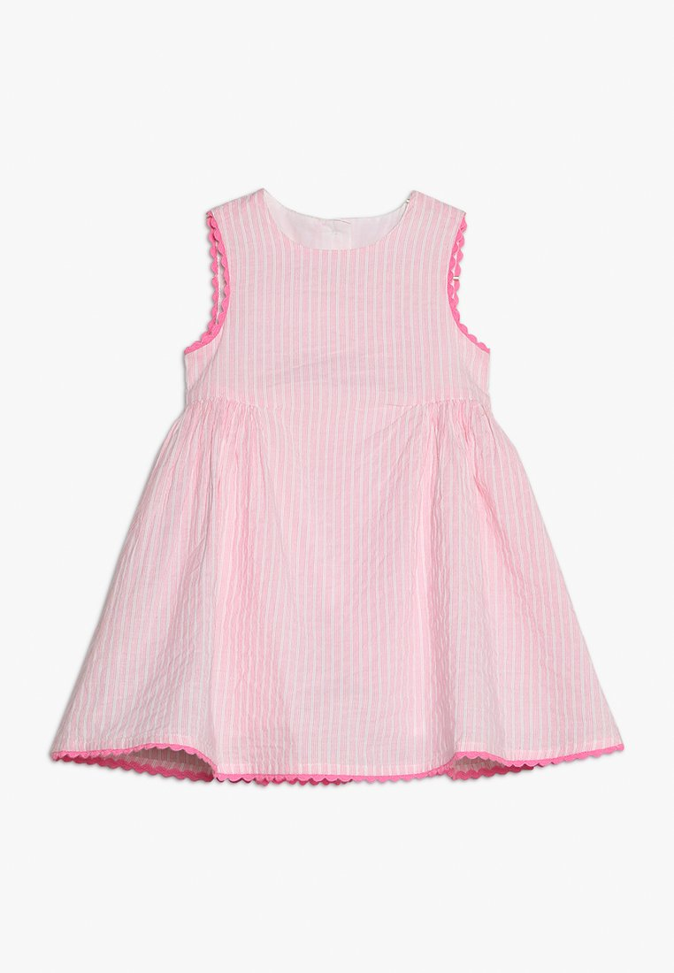 mothercare - STRIPE TRIM DRESS BABY - Korte jurk - pink