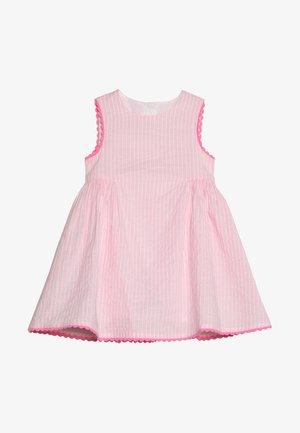 STRIPE TRIM DRESS BABY - Kjole - pink