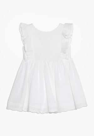 CUTWORK DRESS BABY - Cocktail dress / Party dress - white