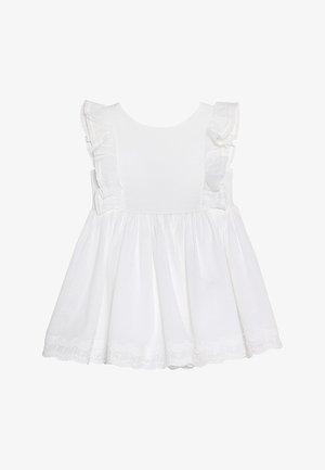 CUTWORK DRESS BABY - Koktejlové šaty/ šaty na párty - white