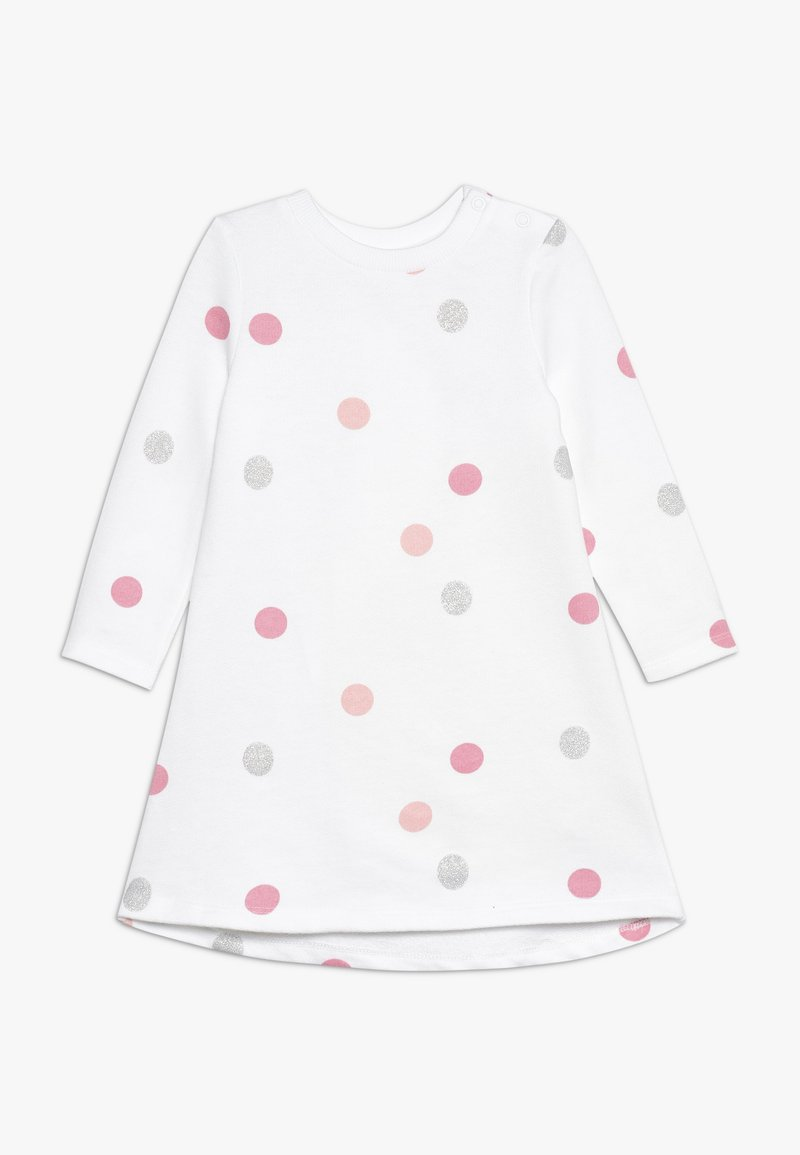 mothercare - BABY SPOT DRESS - Day dress - white