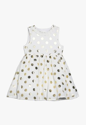 BABY SPOT DRESS - Cocktail dress / Party dress - cream