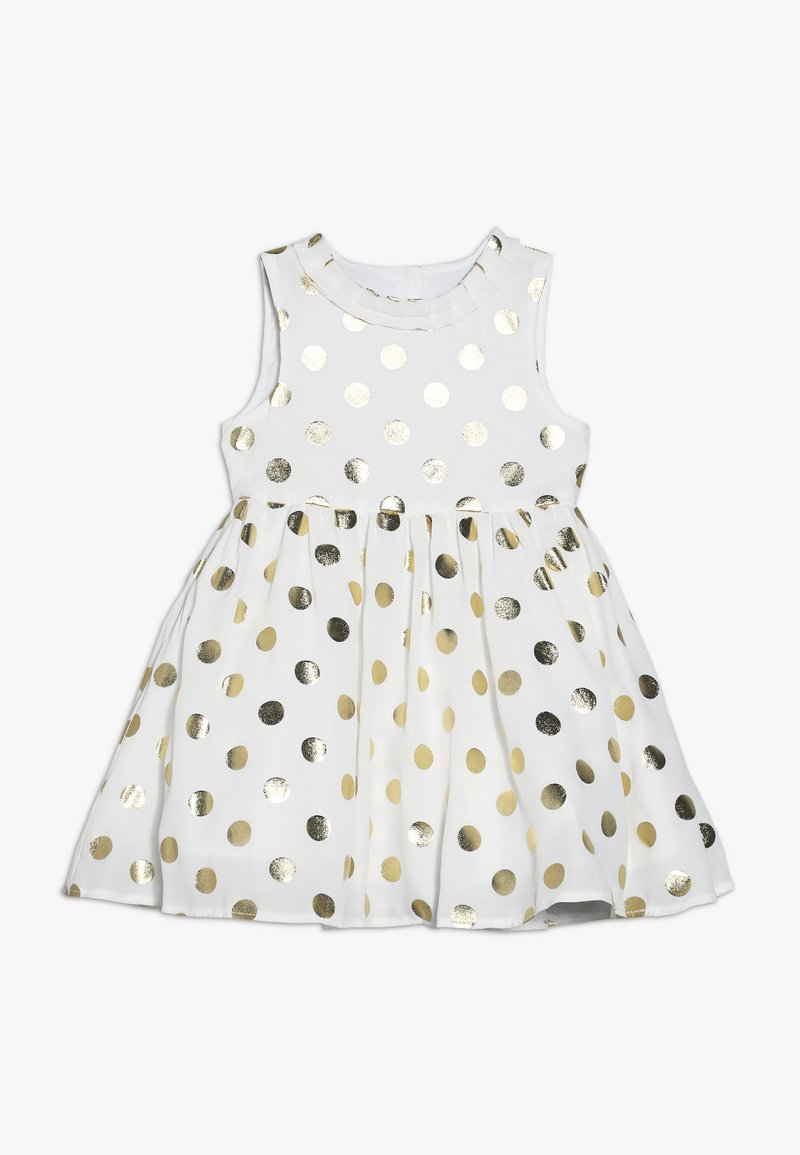 mothercare - BABY SPOT DRESS - Cocktailklänning - cream