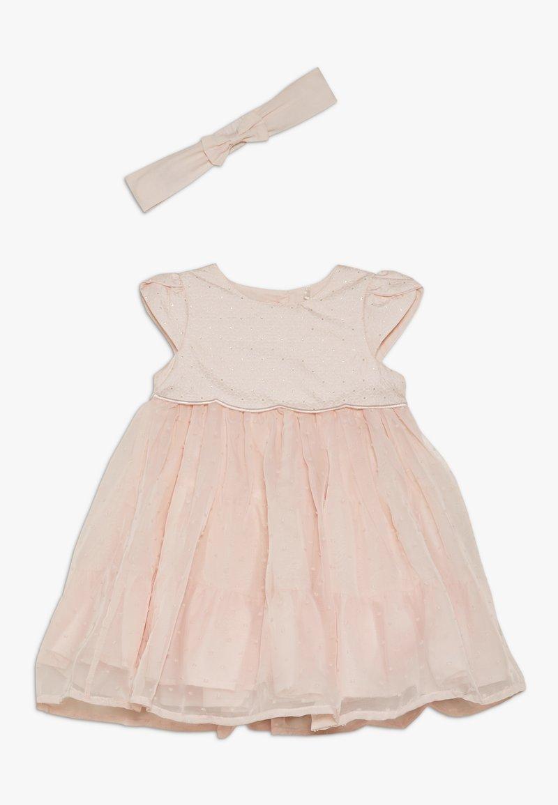 mothercare - BABY BODICE DRESS BAND - Cocktailkjoler / festkjoler - pink