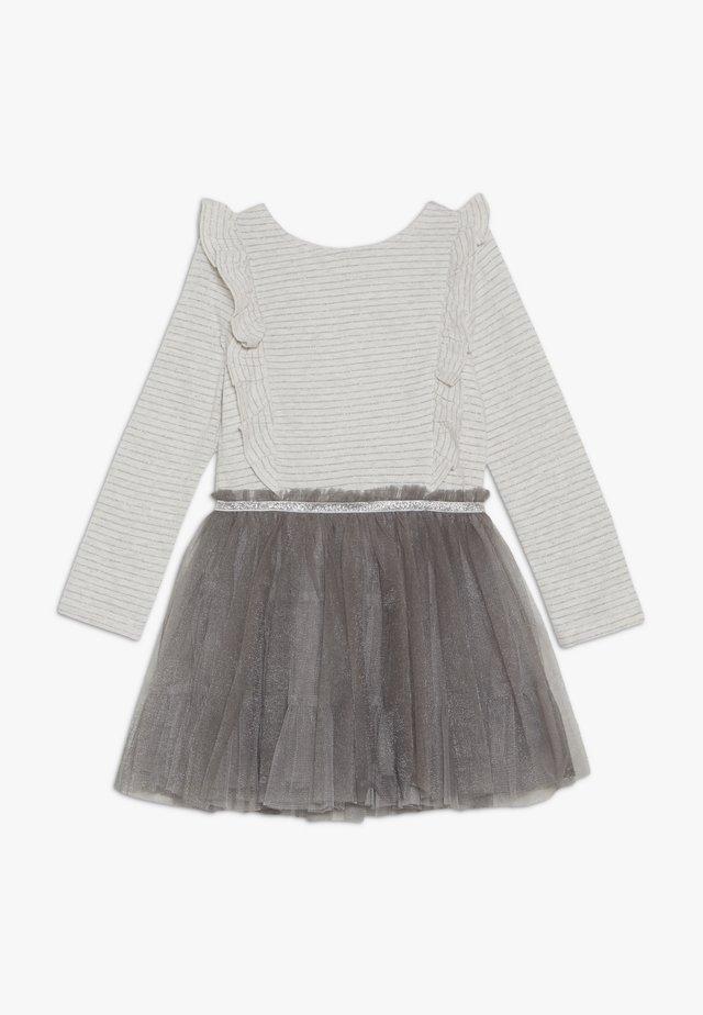 TUTU DRESS - Žerzejové šaty - grey