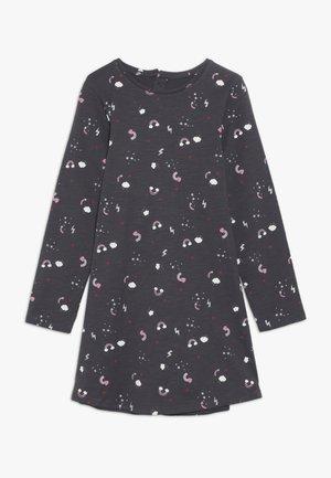 SLUB DRESS - Žerzejové šaty - charcoal