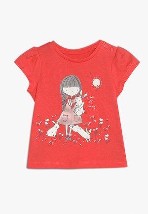 GIRL UBER TEE MINI GIRLS - T-shirt print - coral