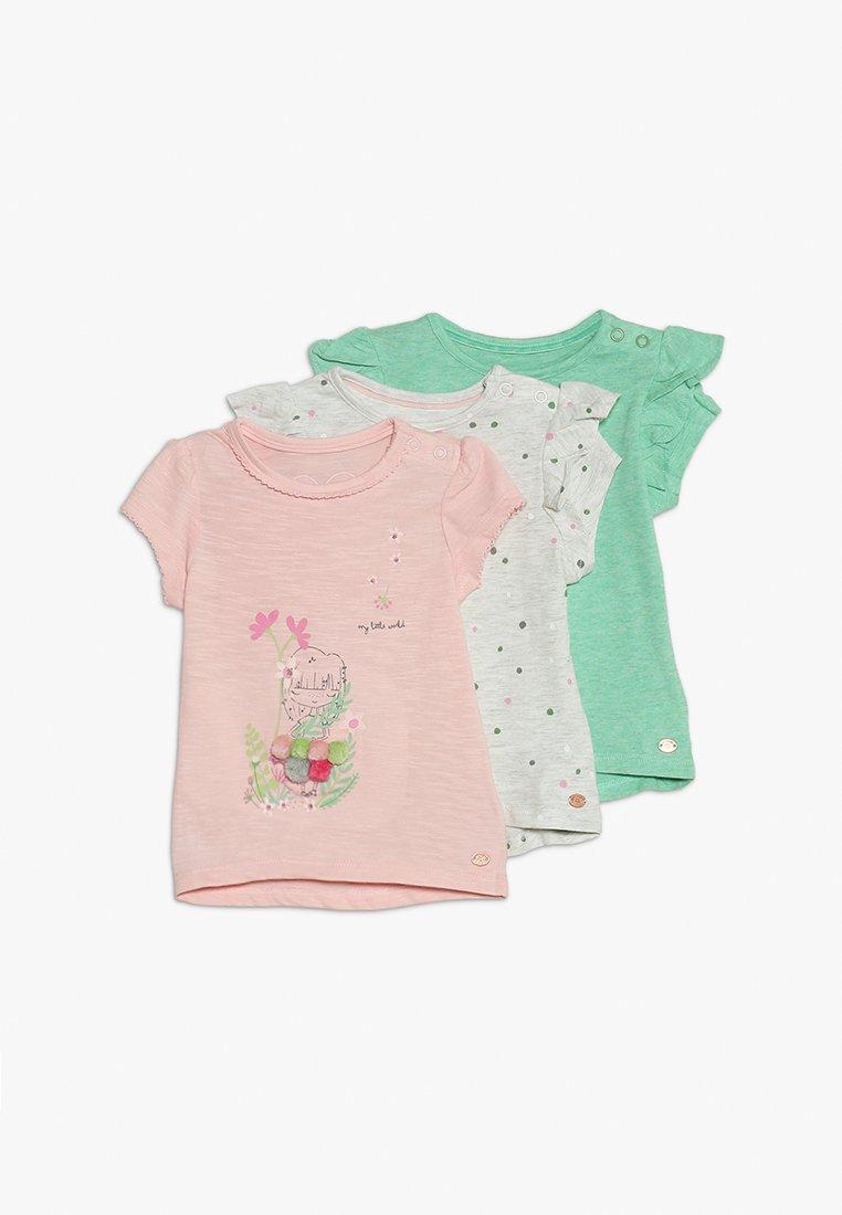 mothercare - FLORAL SPOT TEE MINI GIRLS 3 PACK - Print T-shirt - brights multi