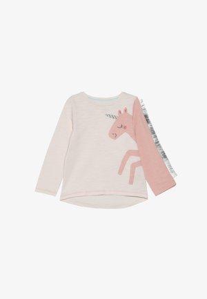 BABY PARTY HORSE - Top sdlouhým rukávem - mottled pink