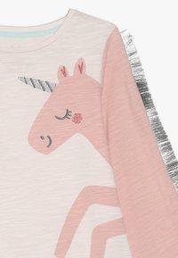 mothercare - BABY PARTY HORSE - Top sdlouhým rukávem - mottled pink - 3