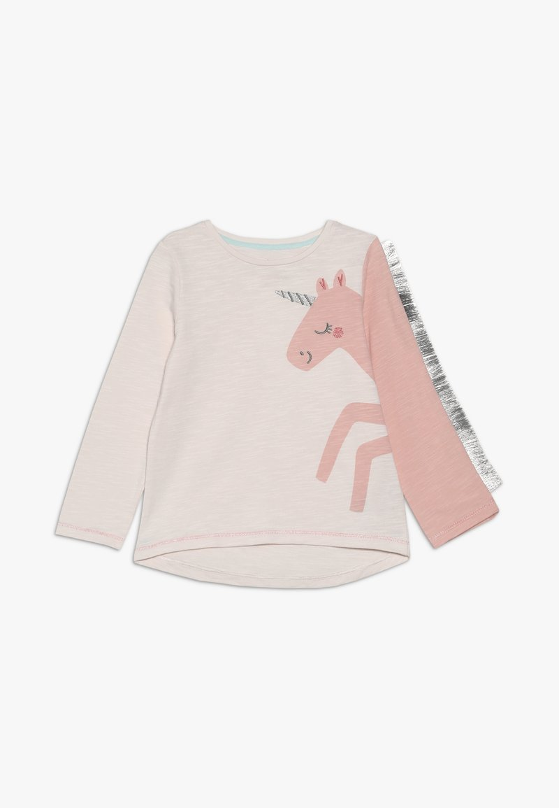 mothercare - BABY PARTY HORSE - Long sleeved top - mottled pink
