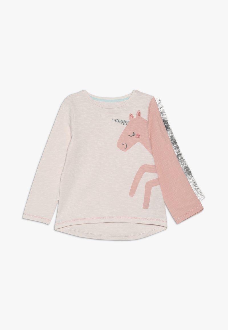 mothercare - BABY PARTY HORSE - Top sdlouhým rukávem - mottled pink