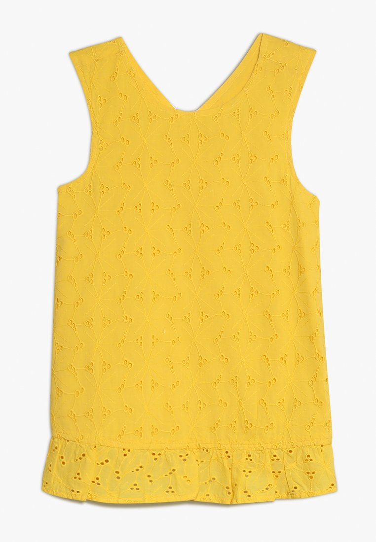 mothercare - LACE BLOUSE - Bluse - yellow