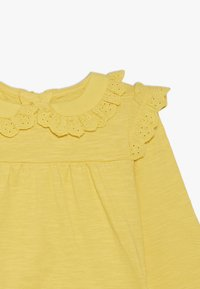 mothercare - BABY BRODERIE FRILL BLOUSE - Maglietta a manica lunga - yellow - 3