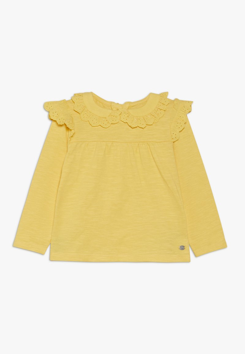 mothercare - BABY BRODERIE FRILL BLOUSE - Maglietta a manica lunga - yellow