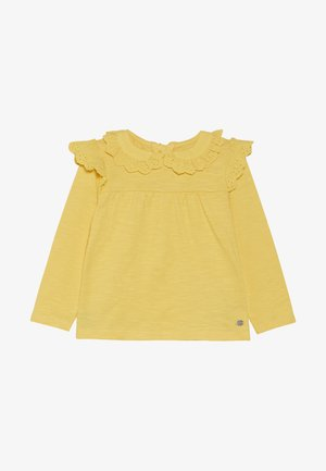 BABY BRODERIE FRILL BLOUSE - Long sleeved top - yellow