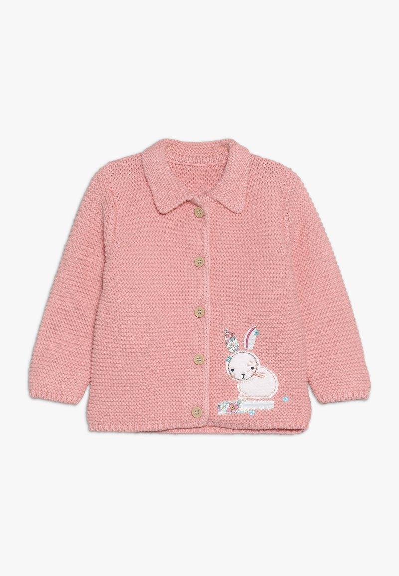 mothercare - BABY BUNNY CARDIGAN - Cardigan - pink