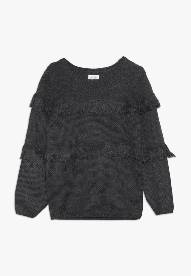 TASSLE JUMPER - Neule - grey