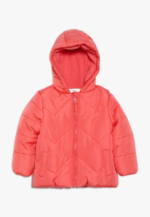 BABY FLOW JACKET PLAIN - Winter jacket - coral