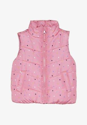 BABY FLOW GILET SPOT - Bodywarmer - pink