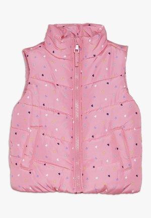 BABY FLOW GILET SPOT - Waistcoat - pink