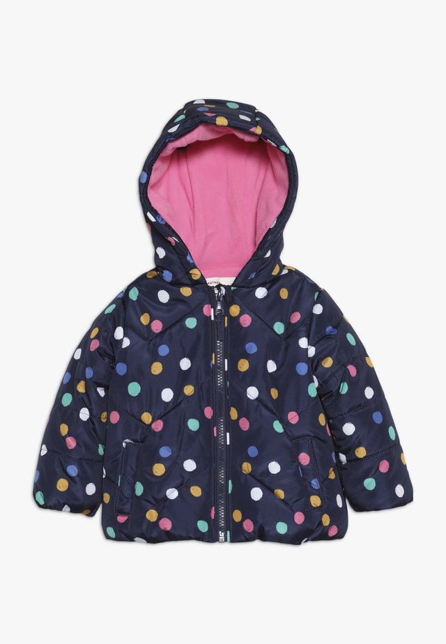 BABY FLOW JACKET MULTISPOT  - Talvitakki - navy