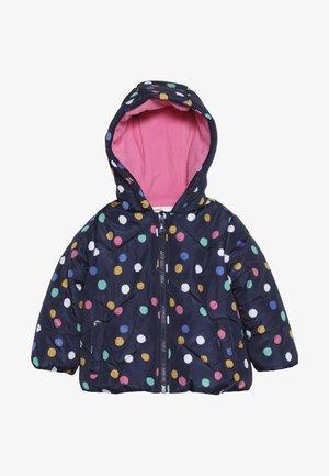 BABY FLOW JACKET MULTISPOT  - Winter jacket - navy