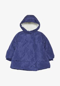 mothercare - BABY PADDED COAT DUVET WRAP HEART - Winter coat - navy - 2