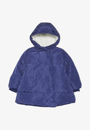 BABY PADDED COAT DUVET WRAP HEART - Abrigo de invierno - navy