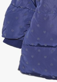 mothercare - BABY PADDED COAT DUVET WRAP HEART - Winter coat - navy - 3
