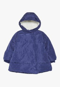 mothercare - BABY PADDED COAT DUVET WRAP HEART - Winter coat - navy - 0