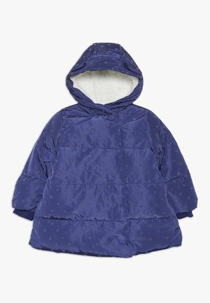 BABY PADDED COAT DUVET WRAP HEART - Winter coat - navy