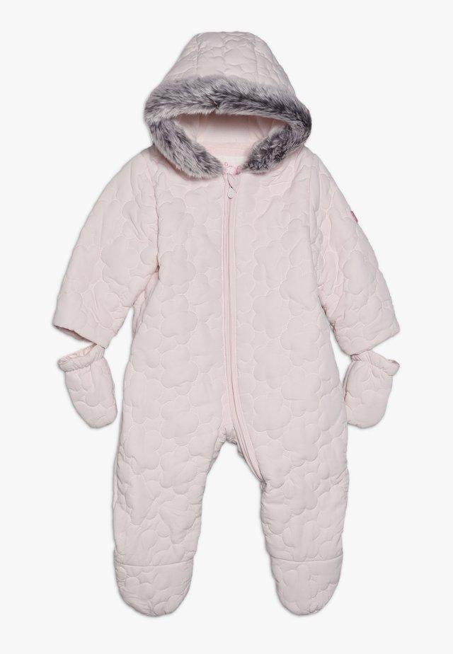 BABY QUILTED SNOWSUIT - Lyžařská kombinéza - pink